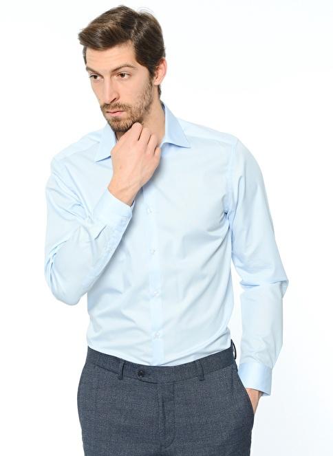 Kip Klasik Gömlek Mavi